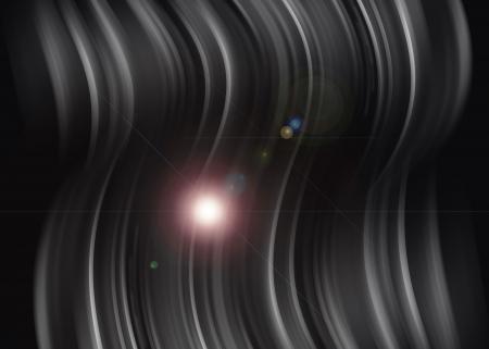 Aura light abstract on balck background Stock Photo - 16327211