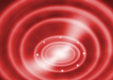abstract wave light, red background Stock Photo - 19140580