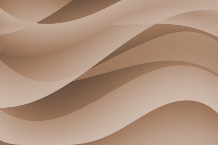 Abstract curve with brown background