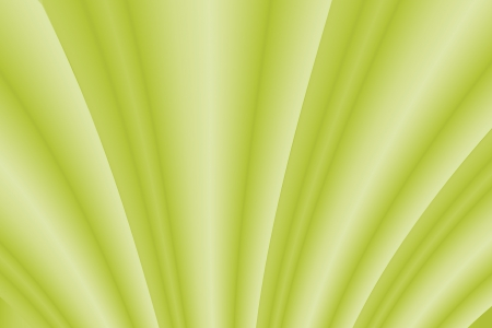 Green abstract curve background photo