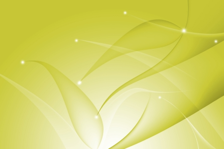 Yellow abstract with wavy and curve background Stock Photo