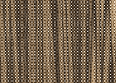 Brown grunge texture weave on white background Stock Photo
