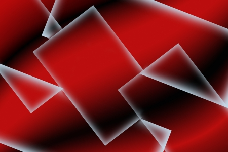 abstract square red background Stock Photo
