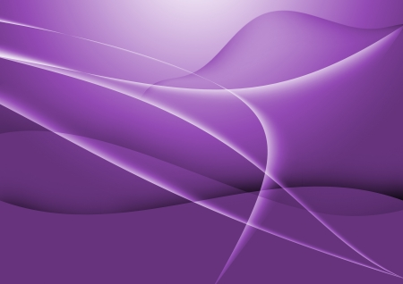 Abstract lines curve purple background