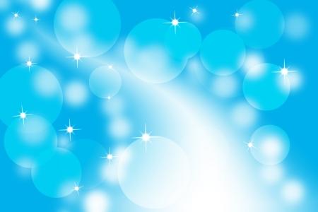 Fundo de incandescência azul abstrato Imagens