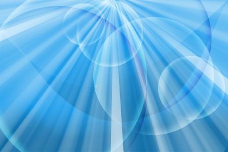 abstract line and circle blue background