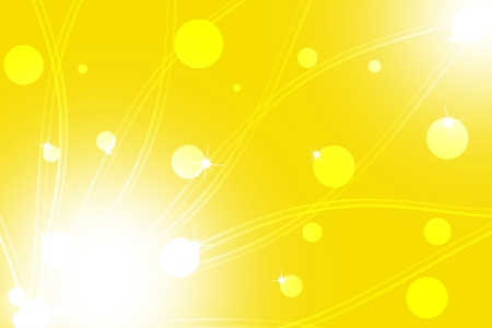 Abstract line wavy yellow background