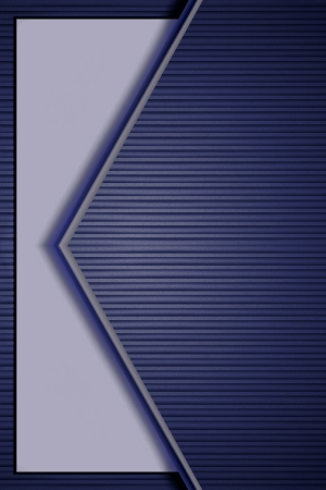 Blue abstract design with cardboard  photo