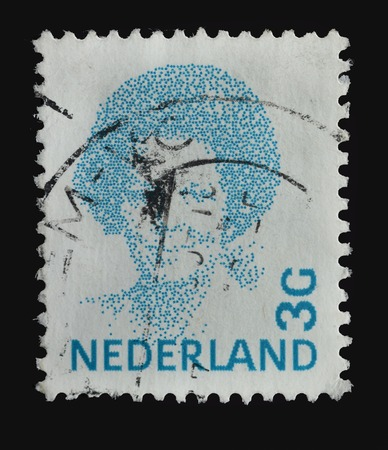 NETHERLANDS - CIRCA 1984   stamp printed in the Netherlands shows image of Queen Beatrix, circa 1984