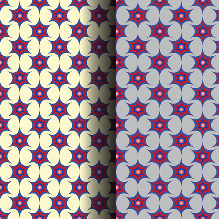 2 set of Seamless Pattern Vector Background Vector