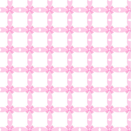 Seamless pink pattern background Vector