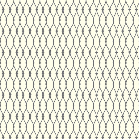 Seamless pattern lines with curve, grate vector background Illustration