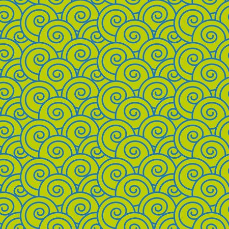 japanese pattern: Japanese Wave Seamless Pattern