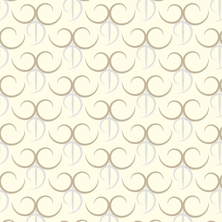 Seamless two tone pattern background Vector