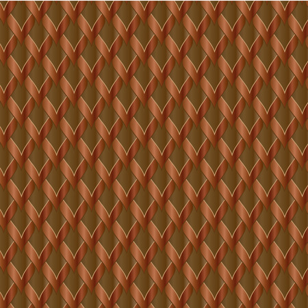 two tone: Seamless two tone pattern brown background Illustration