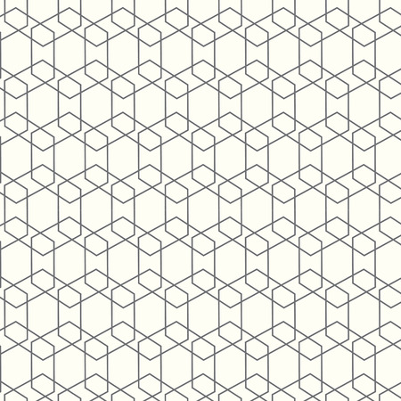 Seamless geometric tiles square pattern background Illustration