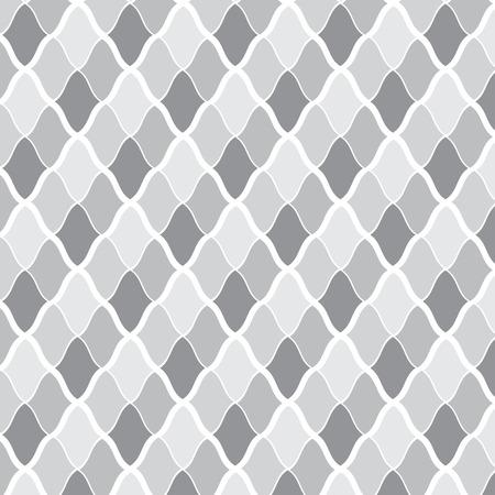 seamless vector monochrome geometric pattern background Vector