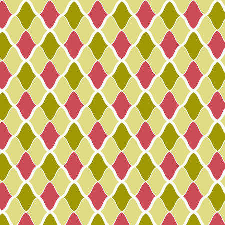 seamless vector geometric pattern multicolor background Vector