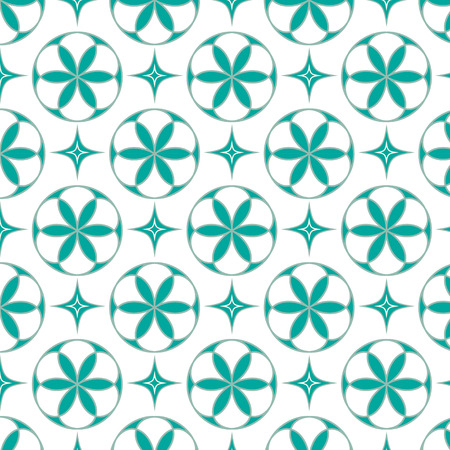 seamless pattern floral: abstract seamless pattern floral, lines geometric background