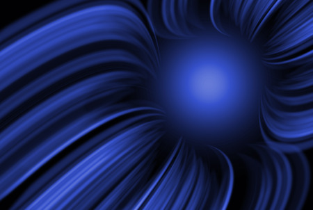 navy blue background: Abstract wavy and lines navy blue background