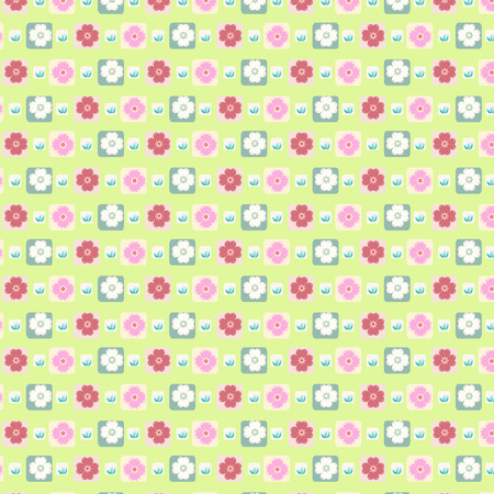 seamless pattern floral: seamless pattern floral soft green background Illustration