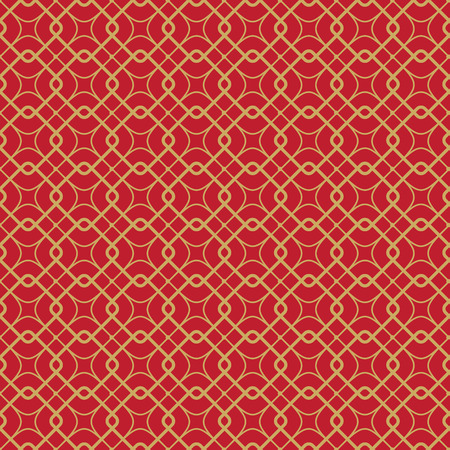 seamless vector pattern geometric red background