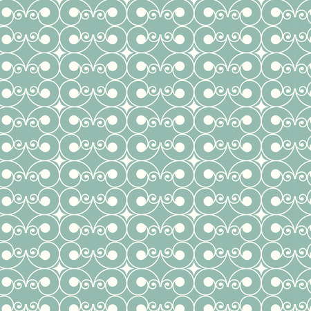 seamless vector swirl pattern asian style background Vector