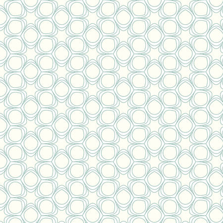 vector seamless pattern line and curve background Vector