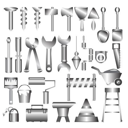 metal working: Working tools metal icon