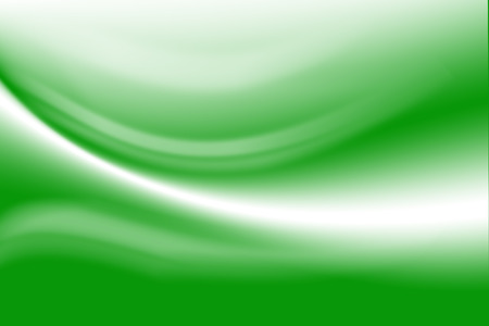 Green abstract line and wavy, gradient background