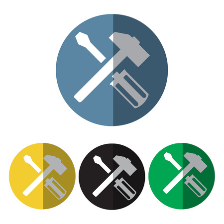 mending: hammer and screwdriver icon