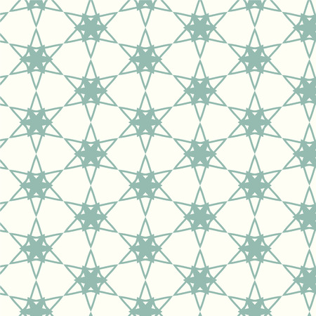 flower line: abstract seamless pattern geometric vector background Illustration