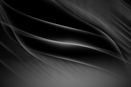 curve line: black abstract line and curve background Stock Photo
