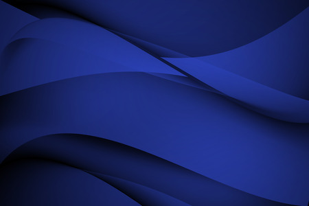 navy blue: Navy Blue abstract line and curve background Stock Photo