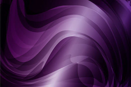 Abstract purple curve and wavy background