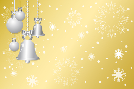 gold christmas background: abstract christmas gold background Illustration