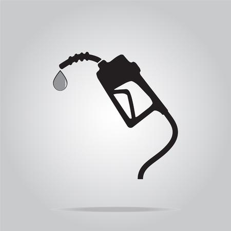 gasoline pump: Gasoline pump symbol, vector illustration Illustration