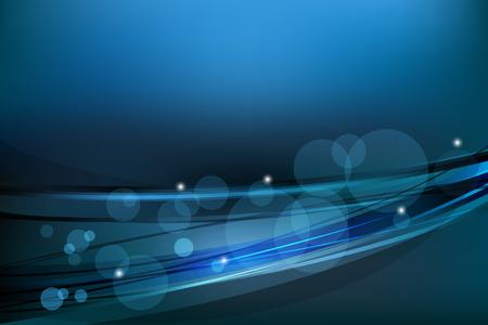azul marino: azul marino resumen de antecedentes vector de gradientes con líneas curvas