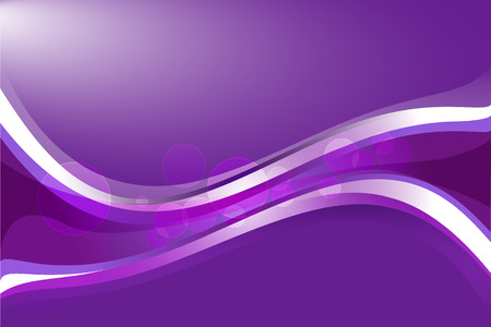 Purple gradient background with wavy lines. Illustration