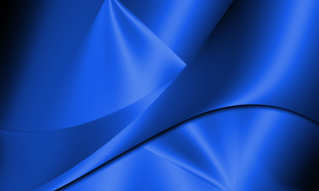 curve line: Blue abstract line and curve background