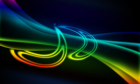 curve line: Abstract line and curve rainbow background