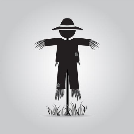 espantapájaros: icono de la muestra del espantapájaros