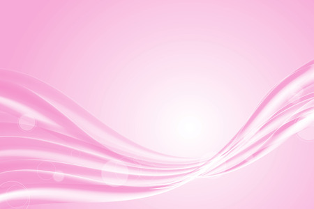 Pink abstract lines and wave background