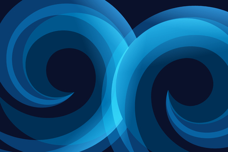 curve line: Blue abstract line and curve vector background