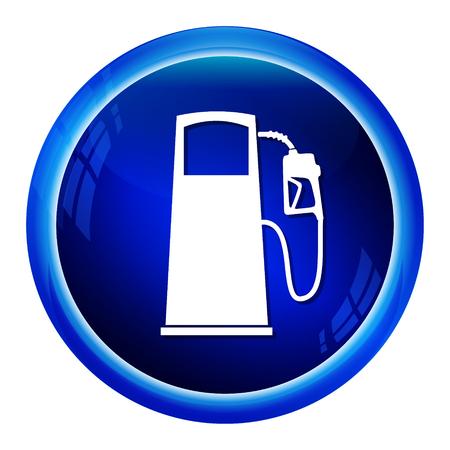 fuel pump: Fuel pump symbol, icon illustration Illustration