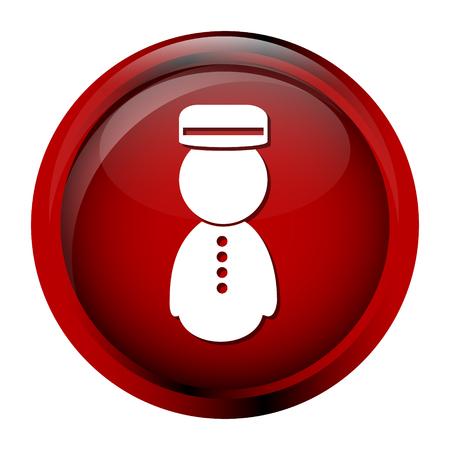 Bellboy icon, symbol button vector