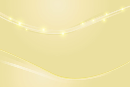 Gold abstract line and wave texture background Illustration