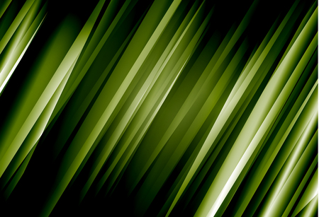 Green abstract line vector background