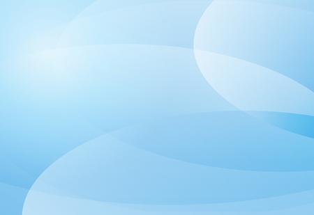 Blue gradient curve soft background material design overlap layer  illustration