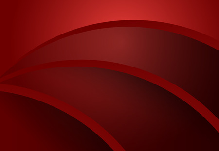 Red and Black abstract curve geometric material design background  for card, annual business report, poster template